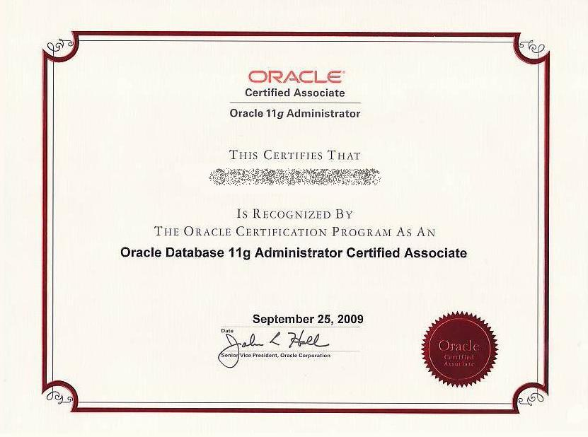 Oracle_CertifiedAssociate_11g_2011